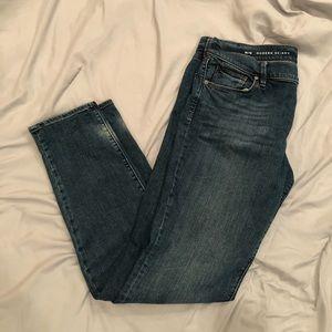 LOFT Modern Skinny blue jeans!